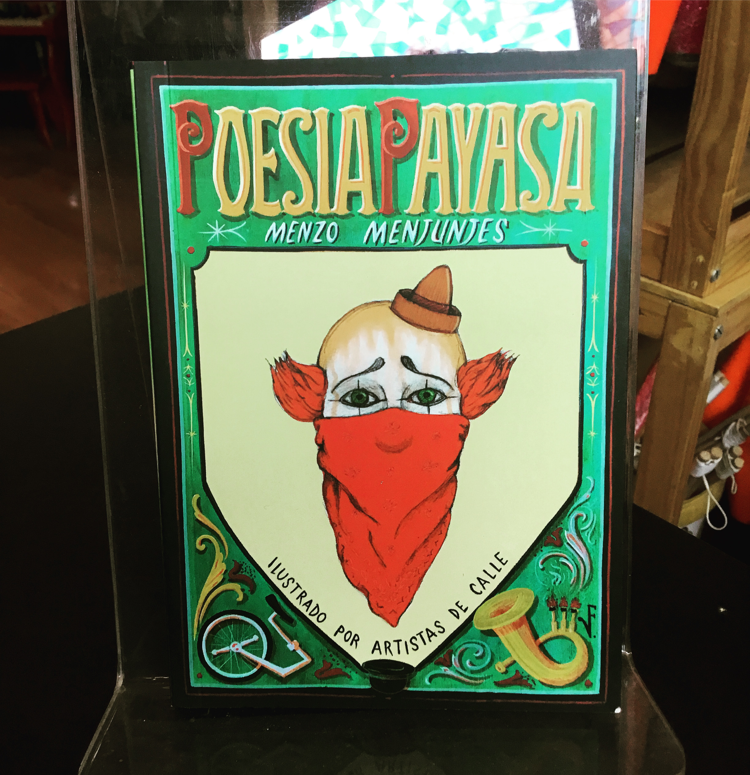 Libro Poesía Payasa