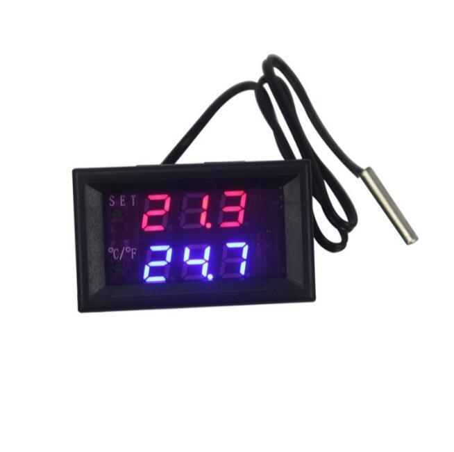 Controlador de temperatura a panel