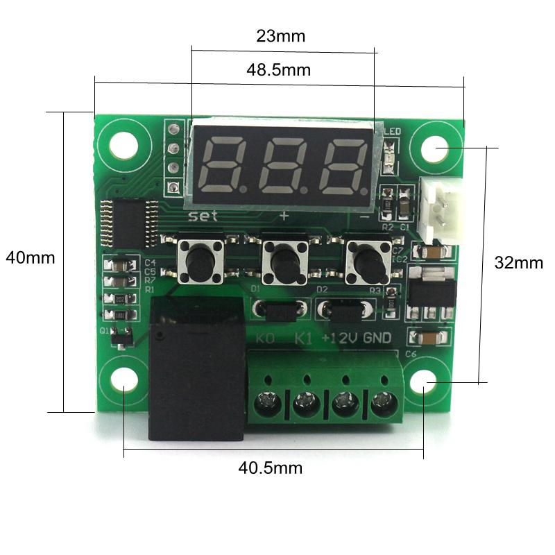 Controlador de temperatura digital (Open frame)