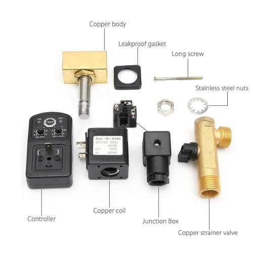 Válvula de despiche automático