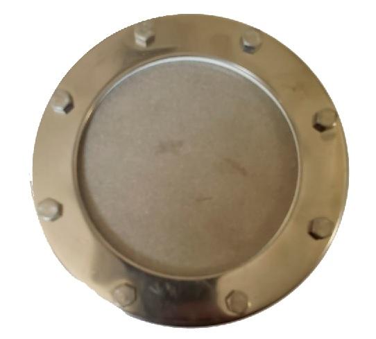 Piedra difusora acero inox 100 mm