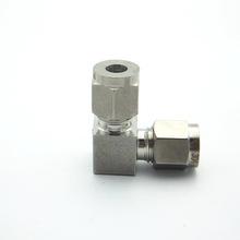 Unión codo 8 mm