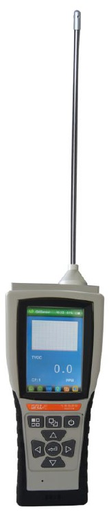Medidor de ozono gaseoso