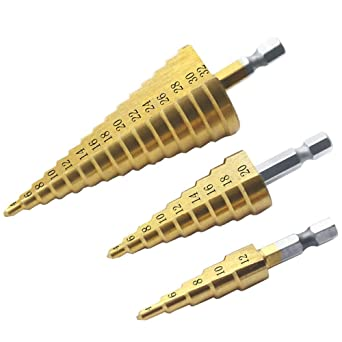 Broca Escalonada - 3 a 12 mm