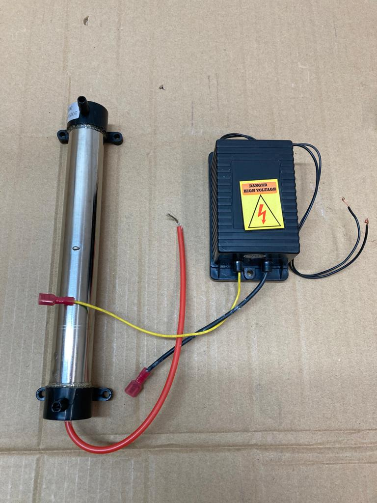 Kit de generacion de ozono - 2 g/h