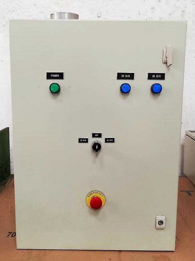 Generador de ozono para campana de cocina industrial 20 g/h