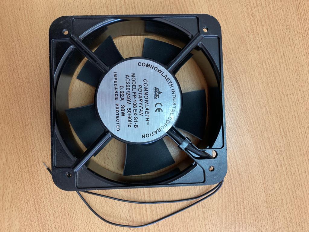 Ventilador de 150 mm