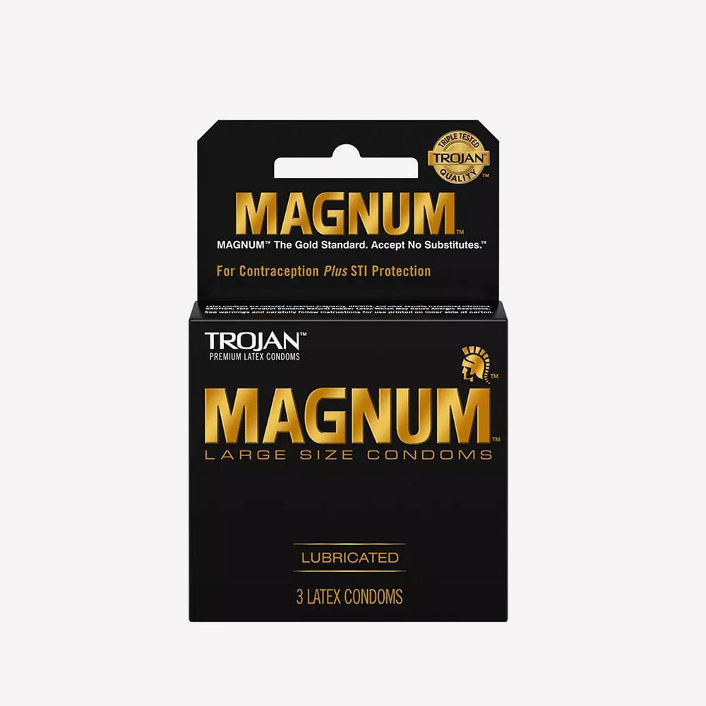 Pack x 3 Condón Trojan Magnum Large