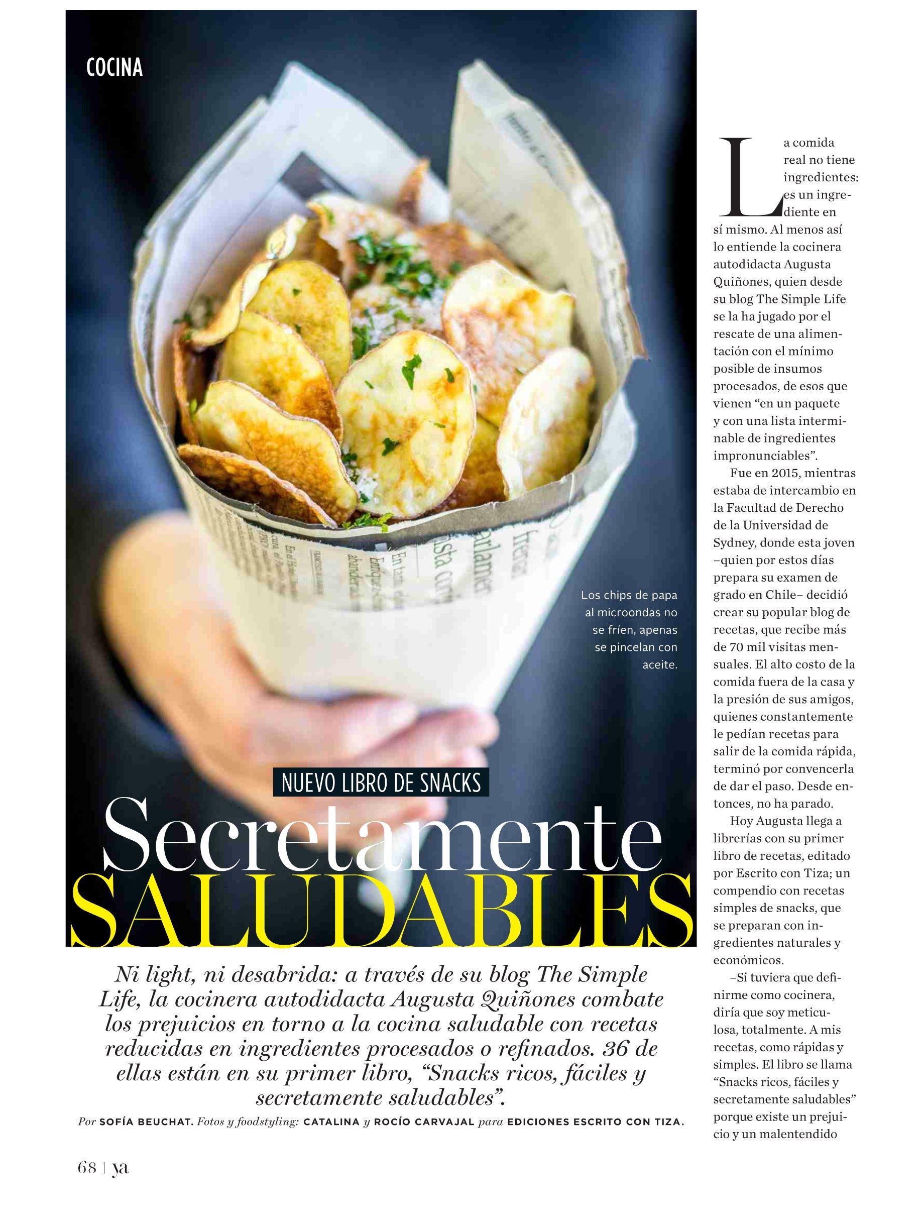Nuevo libro de snacks - Revista ya