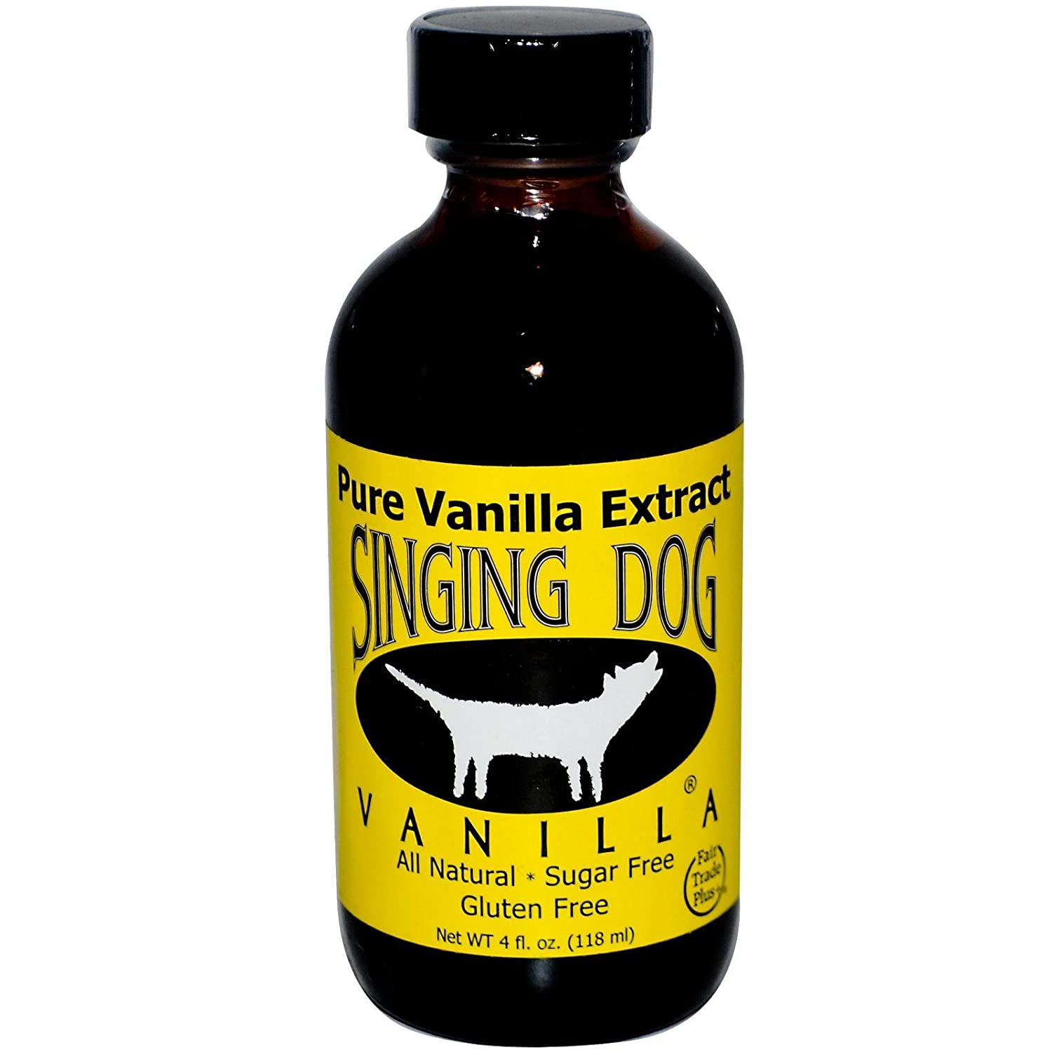VAINILLA NATURAL 100% PURA - gluten free - 59 mL - SINGING DOG
