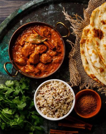 ¡Murgh Makhani o butter chicken Indio!🍗