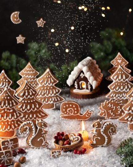 🎄¡Prepara estas ricas galletas de Navidad con Dulce especiado!🌟