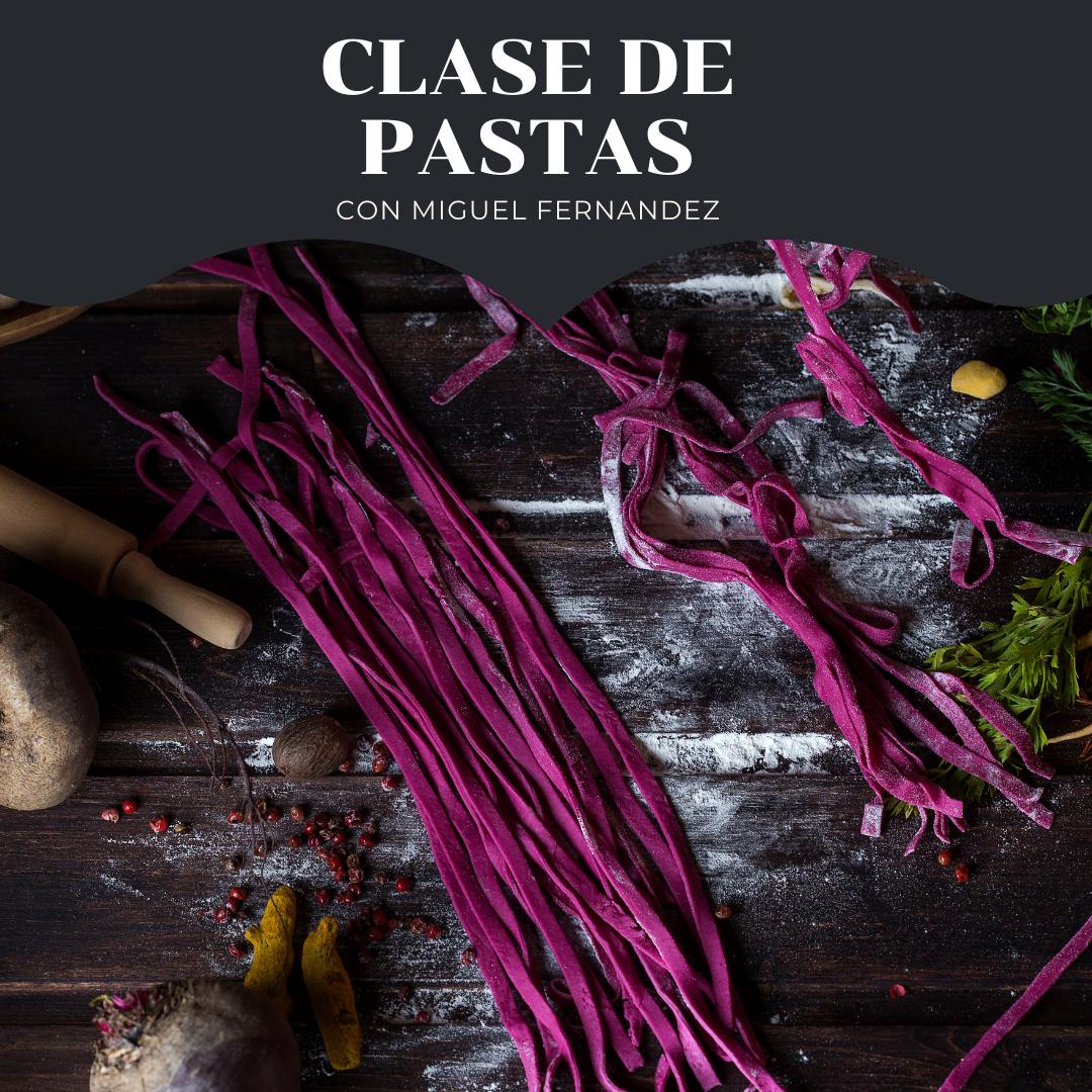 Clase de Pastas con Miguel Fernandez