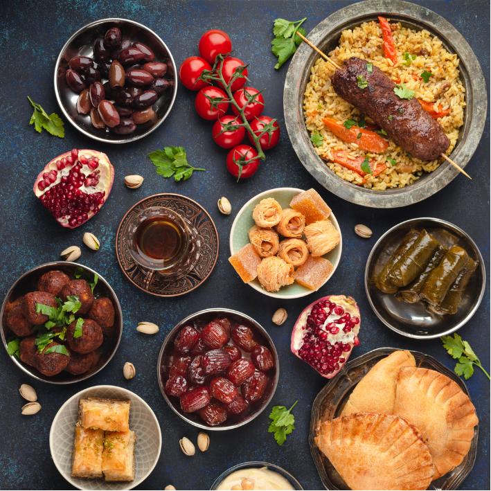 Clase Comida Árabe