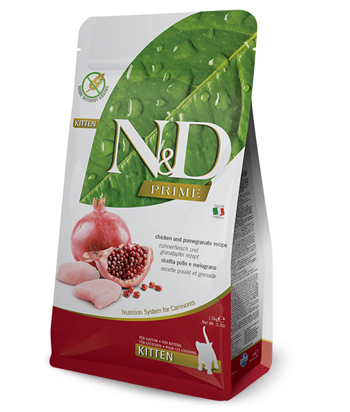 N&D Kitten Pollo y Granada 1,5 kg