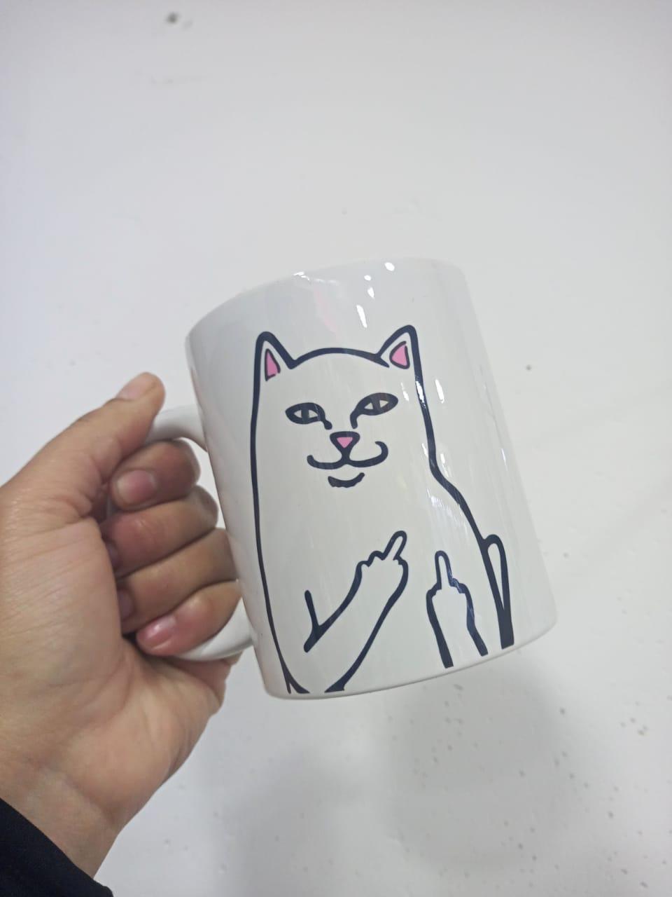 Taza gato Fuck You