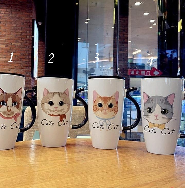 Mug diseño gato