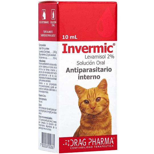 Invermic Gatos 10 Ml