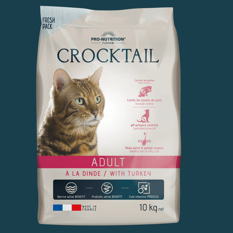 Crocktail Gato Adulto Con Pavo