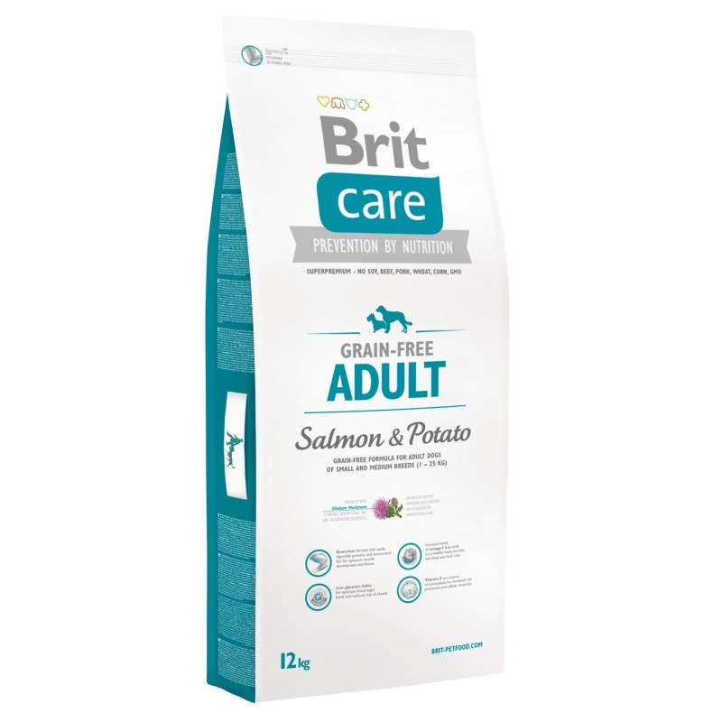 Brit Care Adulto Raza Pequeña-Mediana Salmon y Papa