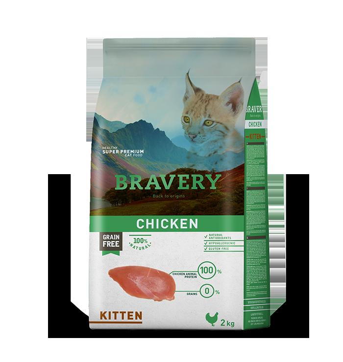 Bravery Kitten Sabor Pollo