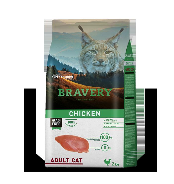 Bravery Gato Adulto Sabor Pollo