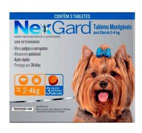 Nexgard 2-4Kg