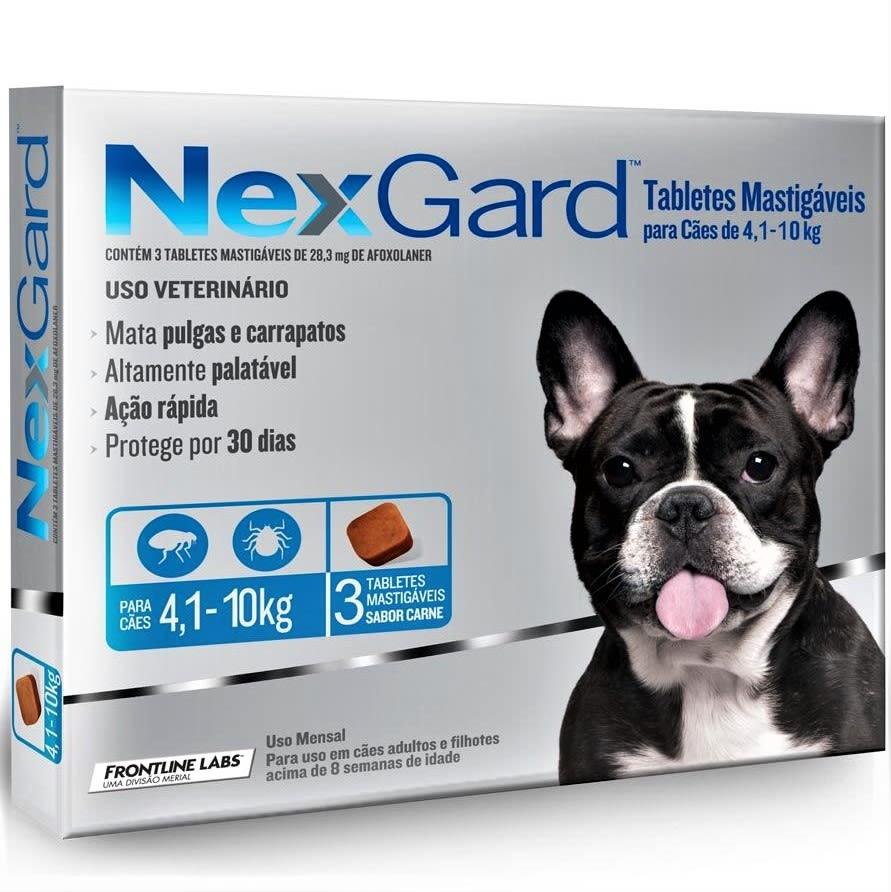 Nexgard 4,1 - 10Kg