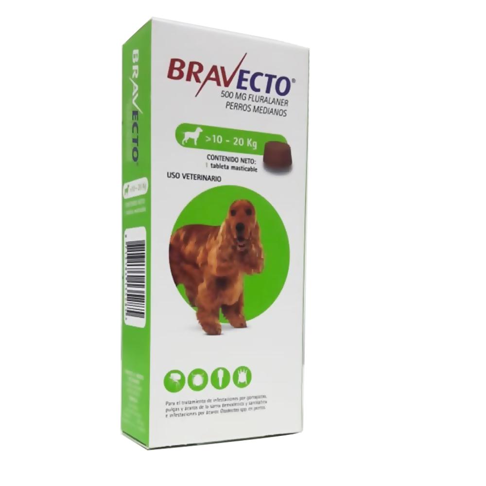 Bravecto 10 - 20Kg Para Perros