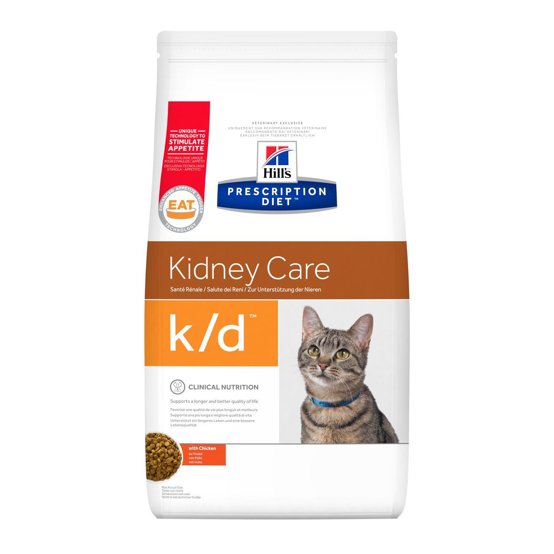 Hills Prescription Diet K/D Kidney Care Para Gatos