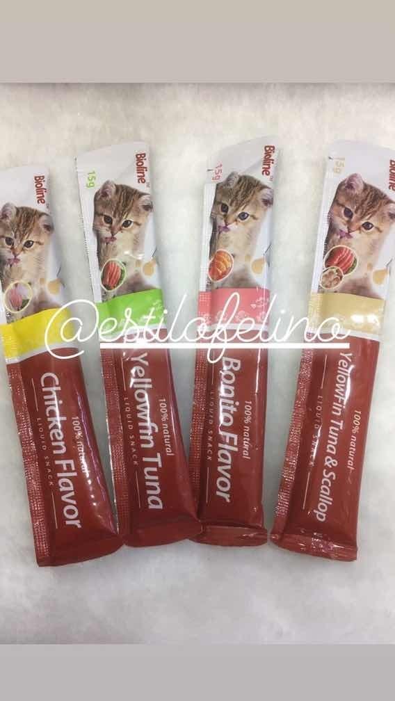 Snack Cremoso Bioline Pack 6un