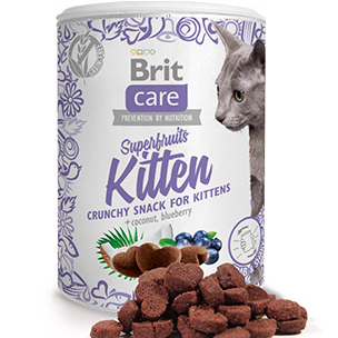 Brit Care Cat Tree Snack Superfruits Kitten