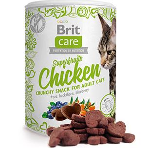 Brit Care Cat Tree Snack Superfruits Chicken