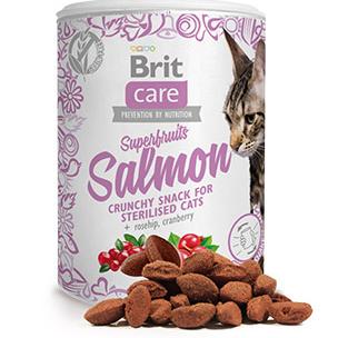 Brit Care Cat Tree Snack Superfruits Salmon