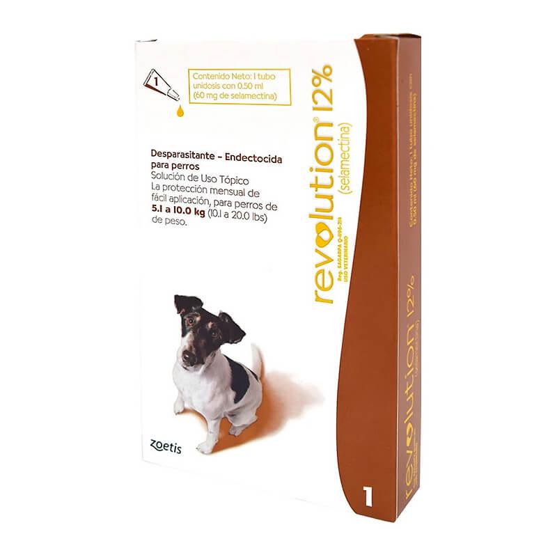 Pipeta Revolution para Perros 5,1 - 10Kg