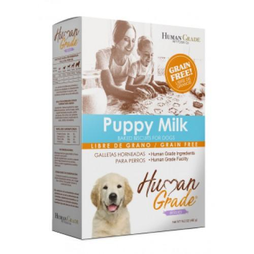 Galletas Human Grade Grain Free Cachorro Leche 460 Gr