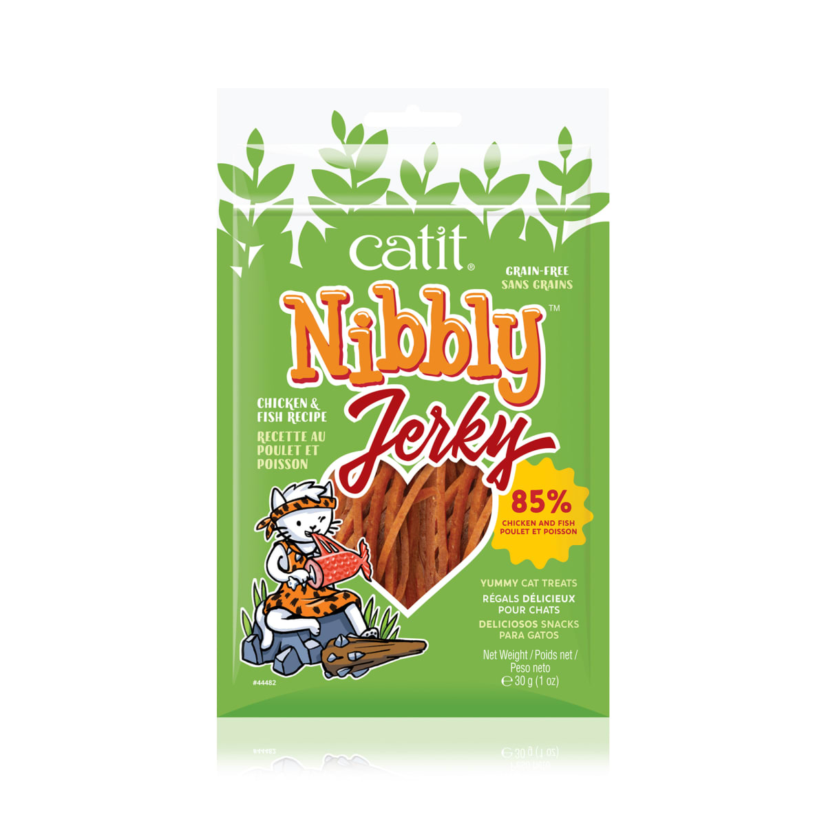 Catit Nibbly Jerky Pollo y Pescado