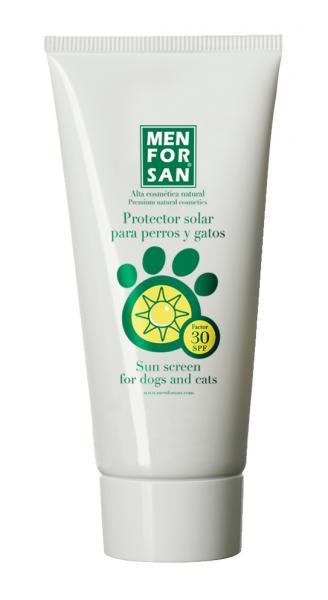 Men for san protector solar para mascotas factor 30