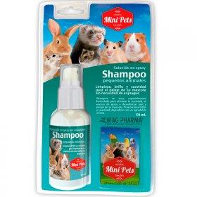 Mini Pets shampoo en seco pequeños animales 50 ml