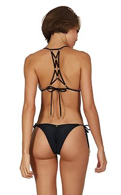 Bikini Lucy Top Black- Image 1