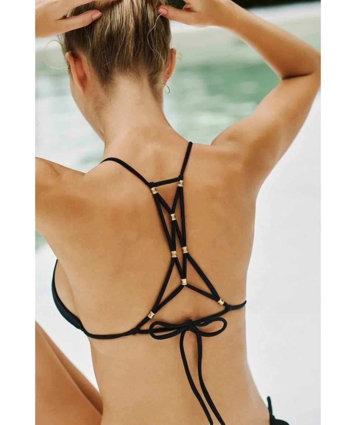Bikini Lucy Top Black- Image 3