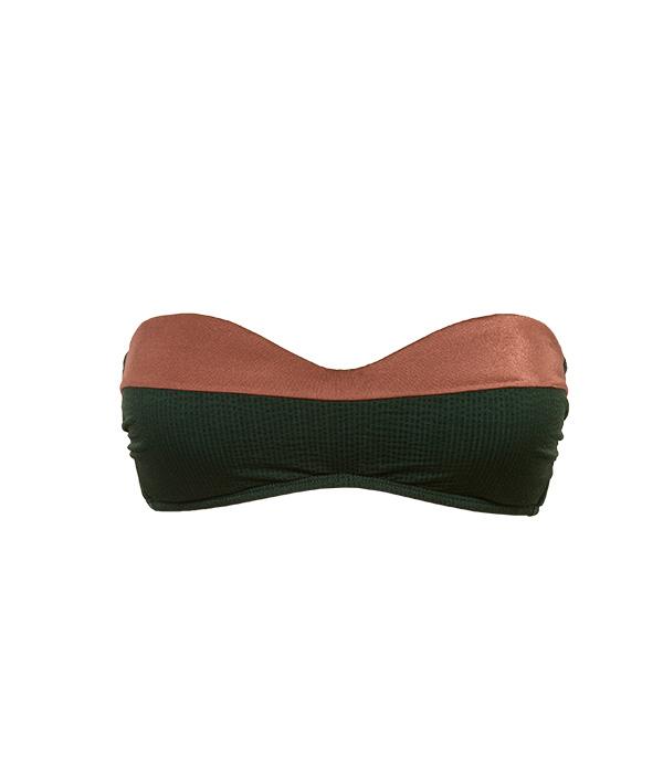 Bikini Amy Bandeau Pine- Image 2