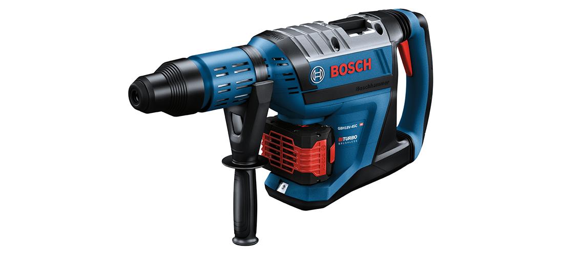 Tudo sobre os novos martelos perfuradores SDS MAX da BOSCH