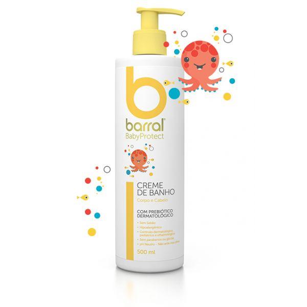 Barral Babyprotect Creme de Banho 500 mL