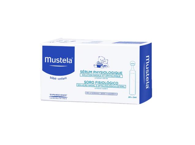 Mustela Bebé Soro Fisiológico 20 x 5 mL