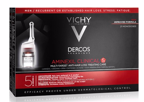 Dercos Aminexil Clinical Homem 21 ampolas