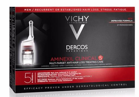 Dercos Aminexil Clinical Homem 42 ampolas