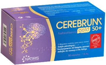 Cerebrum Gold 50+ 30 cápsulas