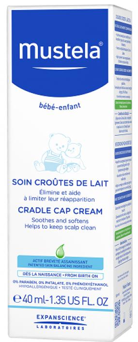 Mustela Bebé Cuidado para Crosta Láctea 40 mL