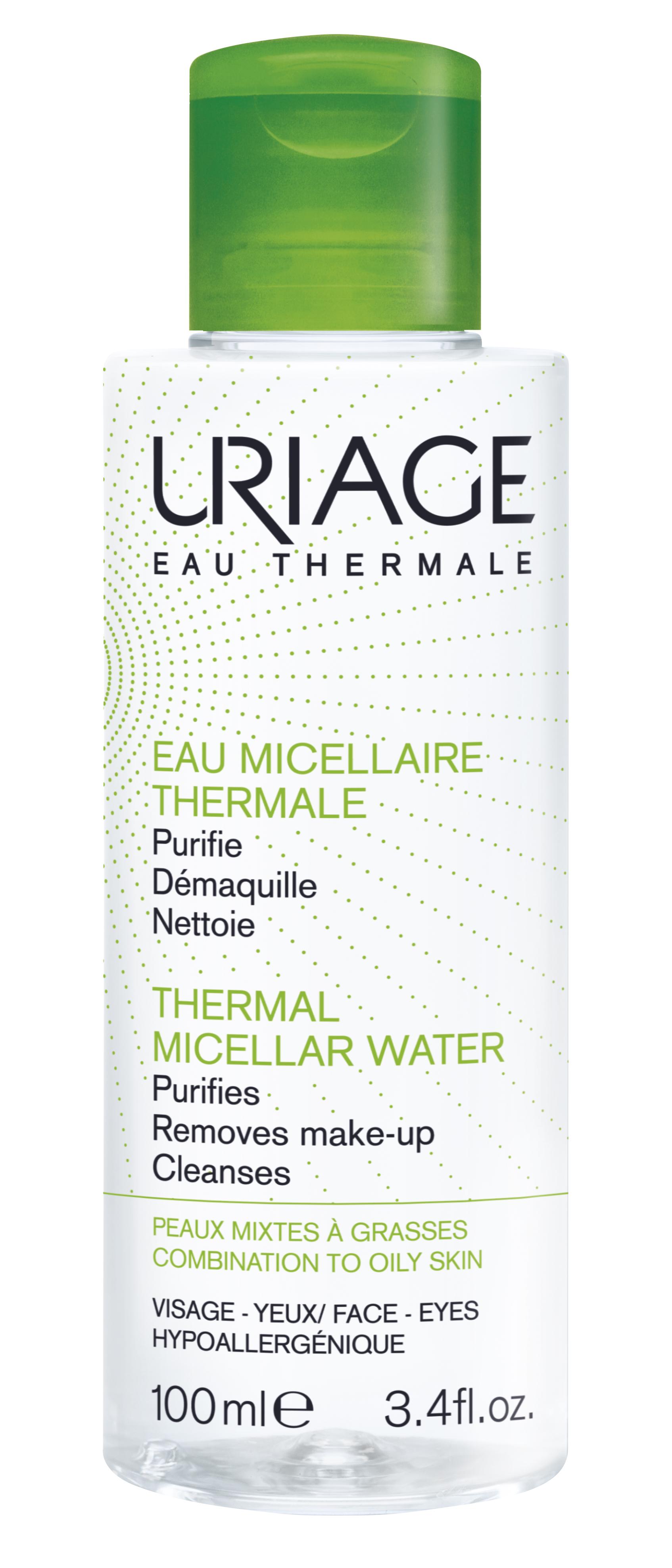 Uriage Agua Termal Micelar Pele Oleosa/Mista 100 mL